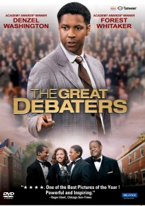 THE GREAT DEBATERS DVD Inlay